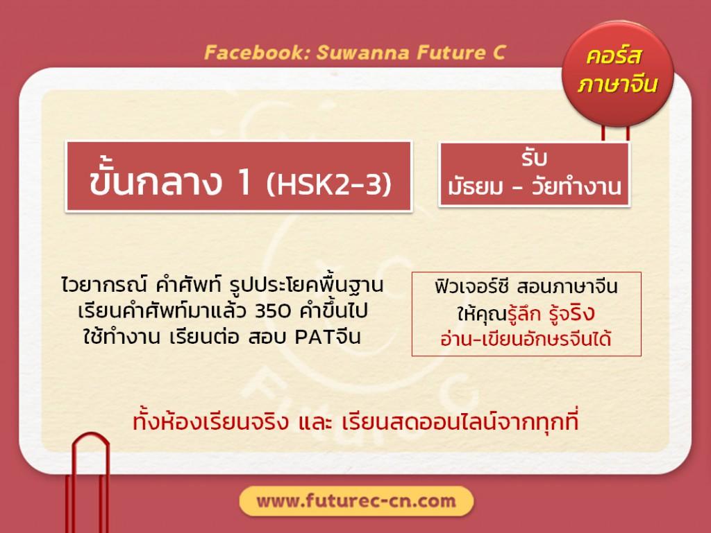 Course Promote M1 HSK2