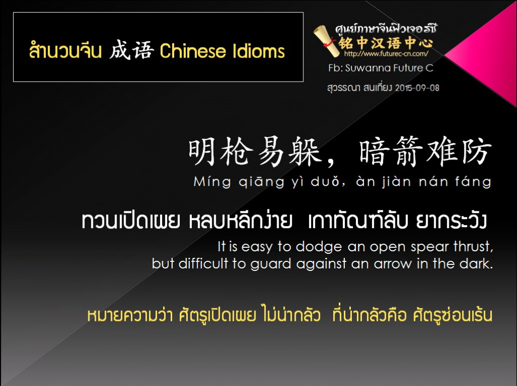 Copy of CN Idiom 5 Mingqiang yidang Anjian nanfang